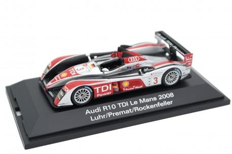 """Spark Audi R10 TDI #3 """"Audi Sport Team Joest"""" 24 Hours of Le Mans 2008 - M.Rockenfeller/L.Luhr/A.Prémat"""
