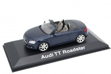 Schuco Audi TT Roadster 8J 2006 - Deep Sea Blue Metallic