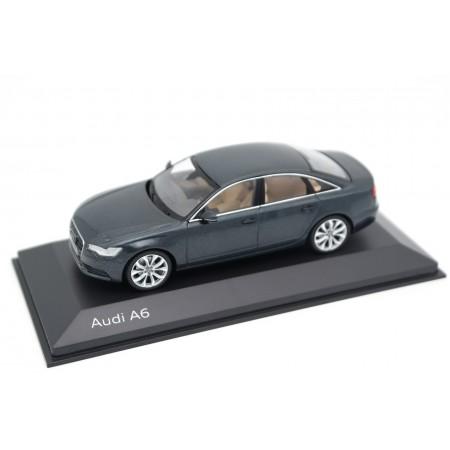 Schuco Audi A6 Limousine C7 2011 - Aviator Blue Metallic