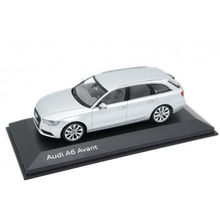 Schuco Audi A6 Avant C7 2011 - Ice Silver Metallic