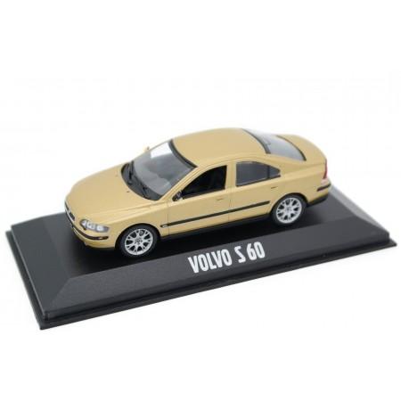 Minichamps Volvo S60 MK II 2003 - Maya Gold Metallic
