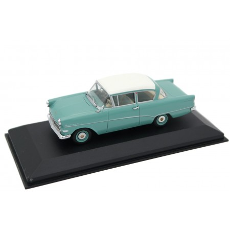 Minichamps Opel Rekord PI 1958 - Torquoise Blue with White Roof