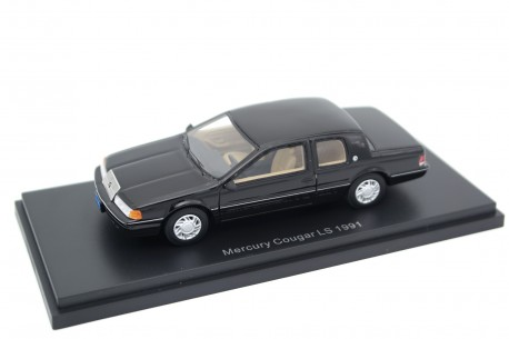 BoS-Models Mercury Cougar VII LS 1991 - Ebony Black