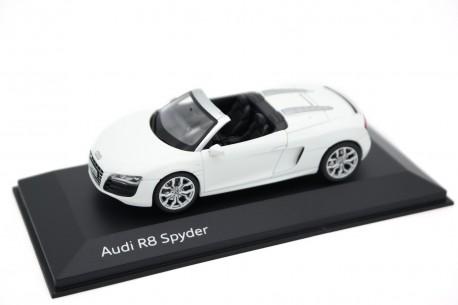 Schuco Audi R8 Spyder 5.2 FSI quattro V10 2009 - Ibis White