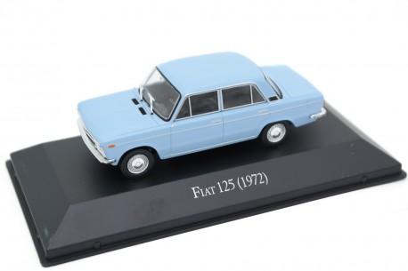Altaya Fiat 125 1972 - Light Blue