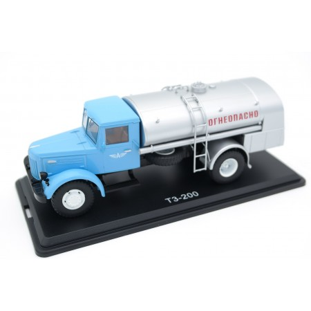 Start Scale Models MAZ-200 TZ-200 Aeroflot 1951 - Blue/Silver