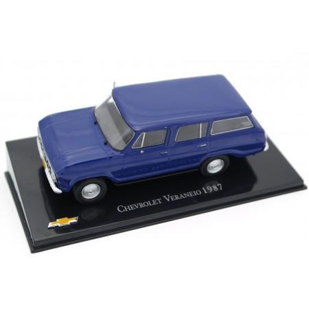 Hachette Chevrolet Veraneio 1987 - Deep Ink Blue