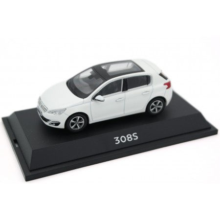 China Promo Models Peugeot 308S T9 2014 - Ice White Satin