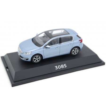 China Promo Models Peugeot 308S T9 2014 - Aurora Blue Metallic