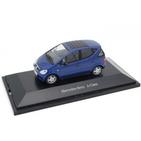 Herpa Mercedes-Benz A-Class A140 Classic W168 1997 - Deep Sea Blue Metallic