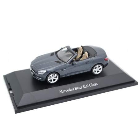 Schuco Mercedes-Benz SLK-Class R172 2011 - Tenorit Grey Metallic