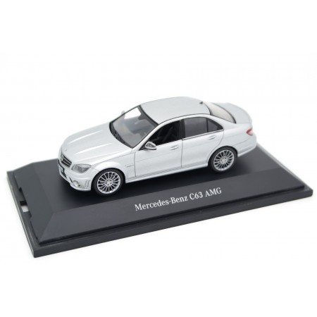 Schuco Mercedes-Benz C63 AMG W204 2008 - Iridium Silver Metallic