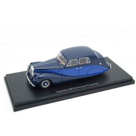BoS-Models Daimler DB18 Empress by Hooper 1950 - Navy Blue/Royal Blue