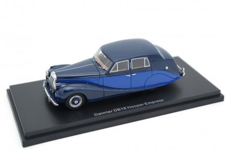 BoS-Models Daimler DB18 Empress by Hooper 1950 - Navy Blue/Royal Blue
