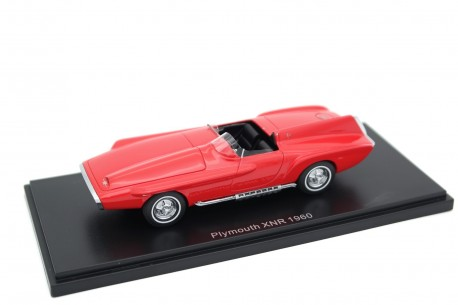 BoS-Models Plymouth XNR Ghia Concept 1960 - Comet Red