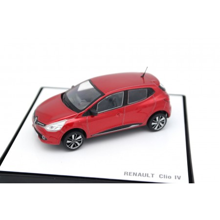 China Promo Models Renault Clio IV Phase 1 X98 2012 - Red Flame Pearl