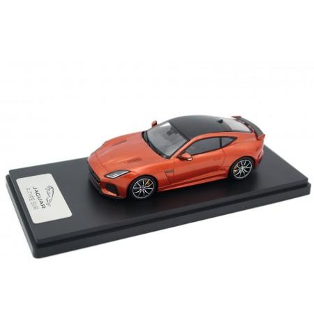 True Scale Miniatures Jaguar F-Type SVR AWD Coupé 2016 - Firesand Orange Metallic