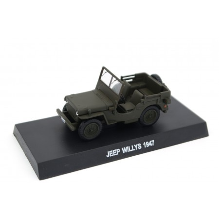 Altaya Jeep Willys Carabinieri 1947 - Pasture Green