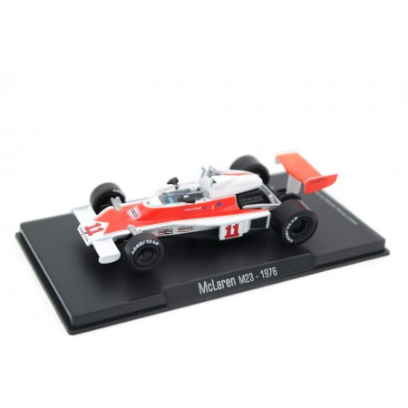 "Altaya McLaren M23 #11 ""McLaren Ford"" World Champion Formula 1 1976 - James Hunt"