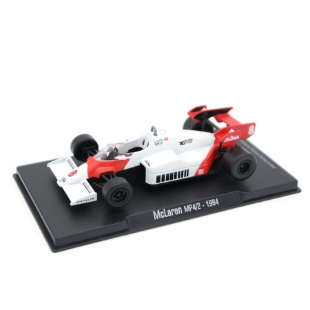 "Altaya McLaren MP4/2 #8 ""Marlboro McLaren International"" World Champion Formula 1 1984 - Niki Lauda"