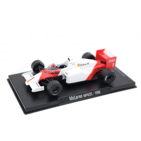 "Altaya McLaren MP4/2 #1 ""Marlboro McLaren International"" World Champion Formula 1 1986 - Alain Prost"