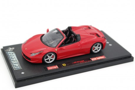 Fujimi/True Scale Miniatures Ferrari 458 Italia 8C Spider 2012 - Rosso Corsa