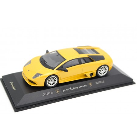 Hot Wheels Elite Lamborghini Murciélago LP 640 2006 - Giallo Orion