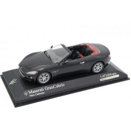 Minichamps Maserati GranCabrio 2010 - Nero Carbonio