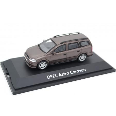 Schuco Opel Astra G Caravan Elegance 1998 - Antelope Brown Metallic