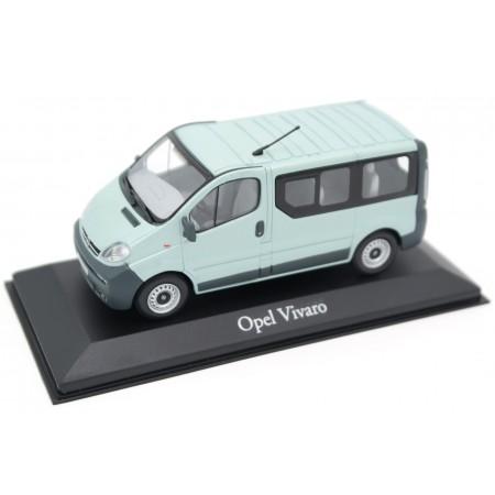 Minichamps Opel Vivaro A Bus L1H1 2002 - Space Green Metallic