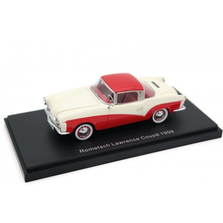 BoS-Models Volkswagen Rometsch Lawrence Coupé 1959 - Kalahari Beige/Sealing Wax Red
