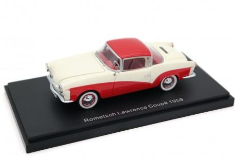 BoS-Models Volkswagen Rometsch Lawrence Coupé 1959 - Kalahari Beige/Sealing Wax Red