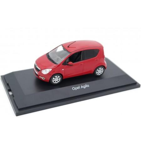 Schuco Opel Agila B Edition 1.2 2008 - Glow Red
