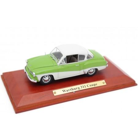 Atlas Wartburg 311/3 Coupe 1957 - Bamboo Green/Pastel White