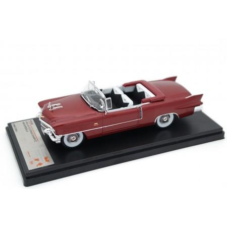 Premium X Cadillac Eldorado Biarritz Open Top 1956 - Castitle Maroon Metallic