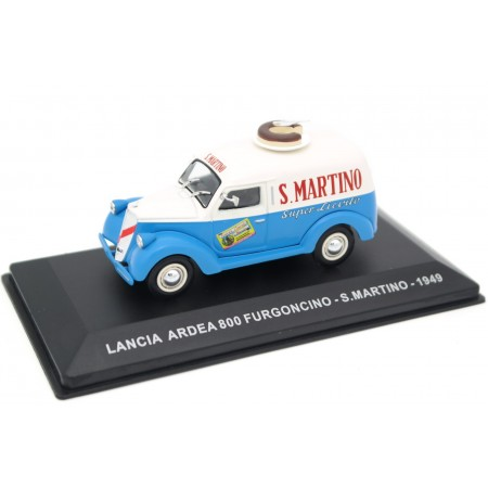 "Altaya Lancia Ardea 800 Furgoncino ""S.Martino"" 1949 - Bright Blue/Light Beige"