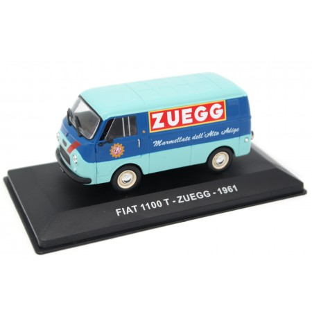 "Altaya Fiat 1100 T ""Zuegg"" 1961 - Medium Blue/Aquamarine Blue"