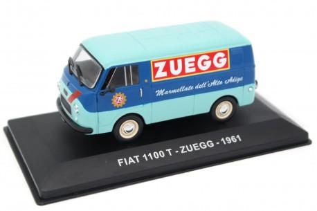 "Altaya Fiat 1100 T ""Zuegg"" 1961 - Medium Blue/Aquamarine Blue"