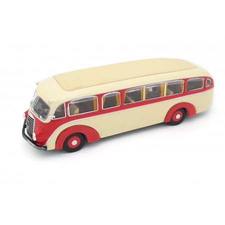 Premium ClassiXXs Mercedes-Benz LO 3100 Stromlinien-Omnibus L59 1935 - Ivory Beige/Saturated Red