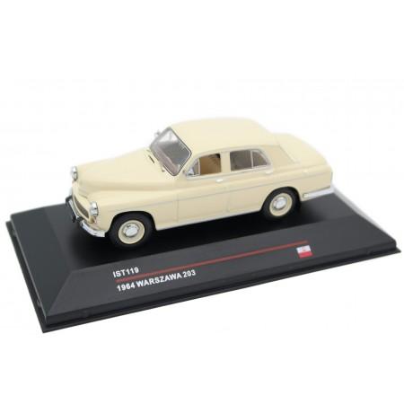 IST Models FSO Warszawa 203 1964 - Ivory Beige