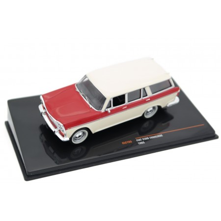 IXO Fiat 2300 Familiare 1965 - Avorio Chiaro Beige/Medium Red