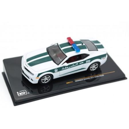 IXO Chevrolet Camaro SS RS Dubai Police 2011 - Summit White