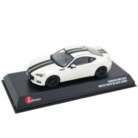 J-Collection Subaru BRZ ZC6 2013 - Crystal White Pearl with Black Stripes