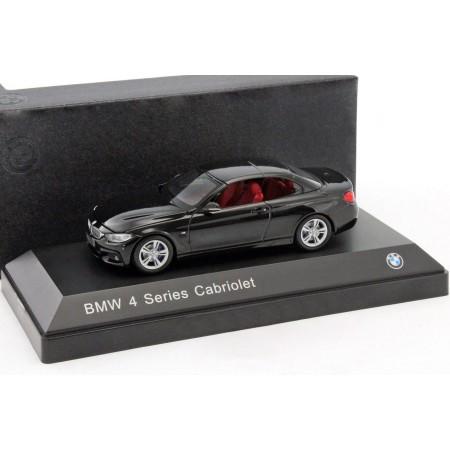 iScale BMW 4 Series Cabriolet F33 saphir black 2014