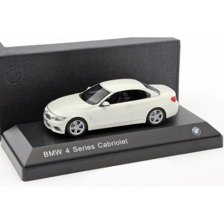 iScale BMW 4 Series Cabriolet F33 alpine white 2014