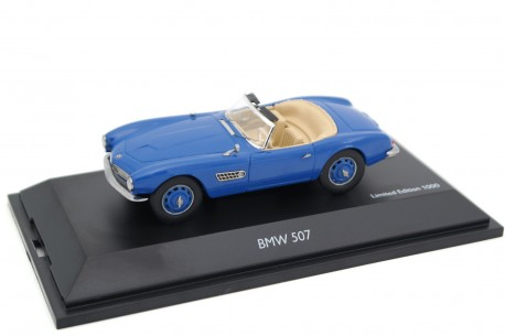 Schuco BMW 507 Roadster 1956 - Azure Blue