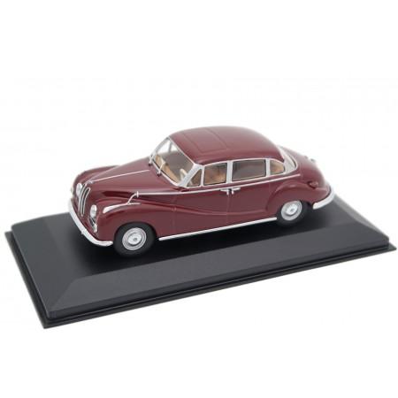 Minichamps BMW 502 V8 Limousine 1954 - Dark Red Wine