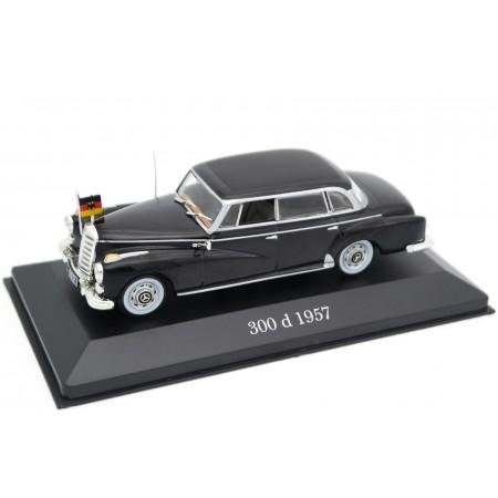 Atlas Mercedes-Benz 300 d Adenauer W189 1957 - Black