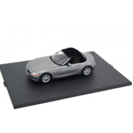 Norev BMW Z4 Roadster E85 2002 - Sterling Gray Metallic