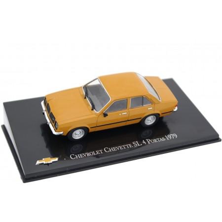 Hachette Chevrolet Chevette SL 4 Portas 1979 - Honey Mustard Yellow